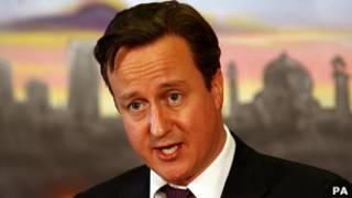 Umushikiranganji wa mbere w'Ubwongereza, David Cameron