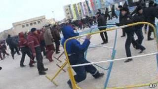 Столкновения в Жанаозене