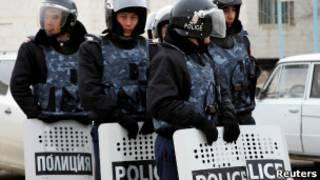 نیروهای امنیتی در جانائوزن