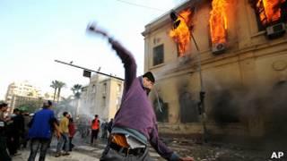 ناآرامی در قاهره