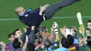 فرحة برشلونة