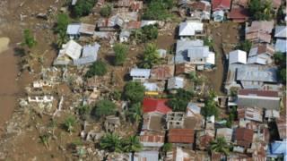 آثار إعصار واشي في الفلبين
