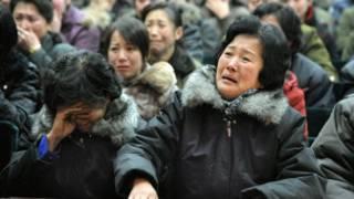 Жители Пхеньяна оплакивают Ким Чен Ира