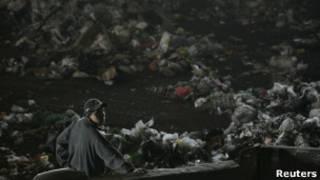 مقلب بوردو بونييتي للقمامة في مدينة مكسيو سيتي