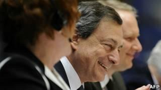 Президент Европейского центробанка Марио Драги
