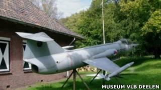 """Модель истребителя F-104 """"Starfighter"""""""