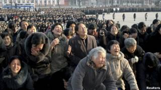 Muestras de dolor en Corea del Norte