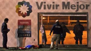 Violência do narcotráfico em Ciudad Juarez, México. Reuters