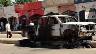 На месте взрыва в Абудже