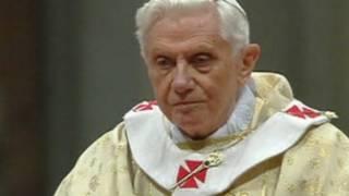 O papa Bento 16, durante missa de Natal, no dia 24 de dezembro de 2011