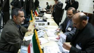 نامنویسی نامزدان انتخابات مجلس