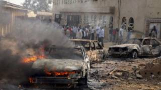 نائجیریا میں حملے کی ایک فائل فوٹو