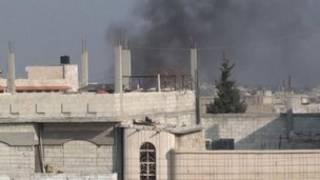 Wani gini na ci da wuta a birnin Homs