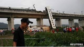 سانحه قطار در چین در ماه ژوییه