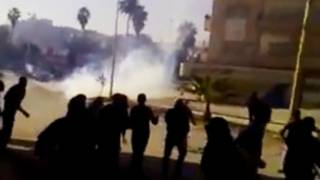 درگیریها در حماه