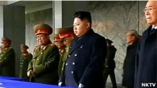 کیم جونگ اون و مقامات کشور