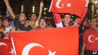 Турецкие спортивные фанаты