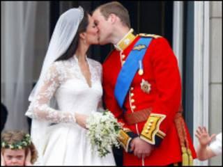 威廉王子阳台之吻