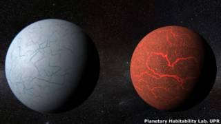 Imagem de exoplanetas recriada por software (UPR)