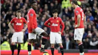 'yan wasan Manchester united