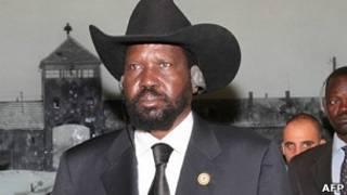 Shugaba Salva Kiir na Sudan ta Kudu