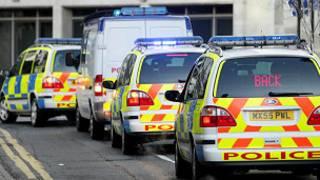 سيارات شرطة بريطانية