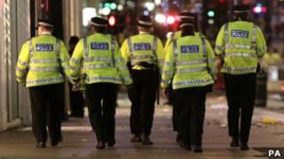 رجال شرطة بريطانيون