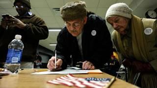Các cử tri Đảng Cộng hòa bỏ phiếu ở Iowa