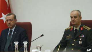 Эрдоган и Басбуг