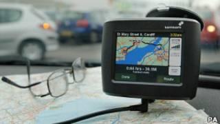 车载卫星导航系统
