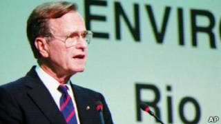 سخنرانی جرج بوش پدر، اجلاس ریو، 1992