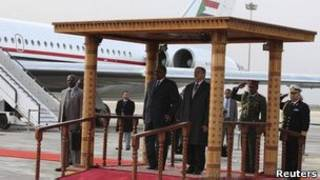 Rais al-Bashir akizuru Libya