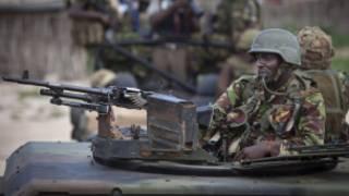 Кенийский солдат
