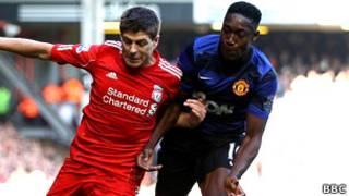 Манчестер Юнайтед против Ливерпуля