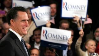 Митт Ромни заявляет о своей победе
