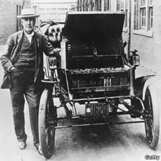 توماس ادیسون و خودروی الکتریکی