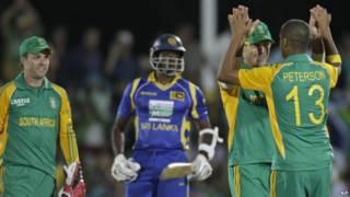 श्रीलंका-दक्षिण अफ़्रीका मैच