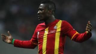 Asamoah Gyan jouera pas le match amical contre le Cap Vert