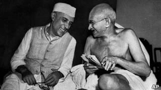 नेहरू और गांधी