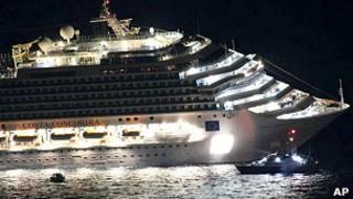 Crucero accidentado