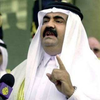 أمير قطر الشيخ حمد بن خليفة آل ثاني