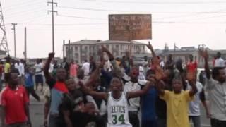 إضراب نيجيريا