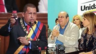 Hugo Chávez, mesa de la unidad