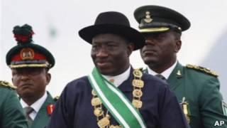 Shugaban Najeriya Goodluck Jonathan