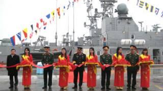 Tàu pháo TT400TP (ảnh của báo Quân đội Nhân dân)