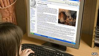 موقع ويكيبيديا على الانترنت