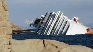 السفينة الايطالية المنكوبة