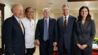 Phái đoàn bốn thượng nghị sĩ Mỹ đã gặp Tổng thống Philippines tuần này