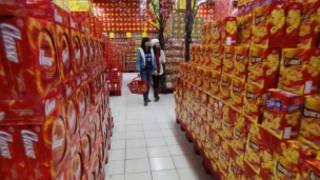 Mua sắm trong siêu thị ở Hà Nội