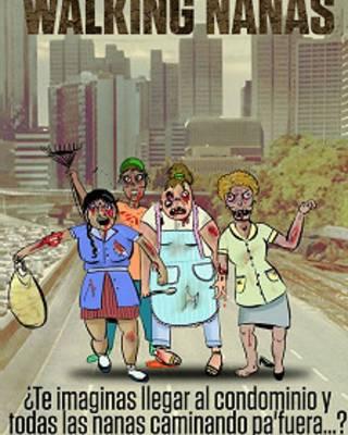 Nanas convertidas en zombies
